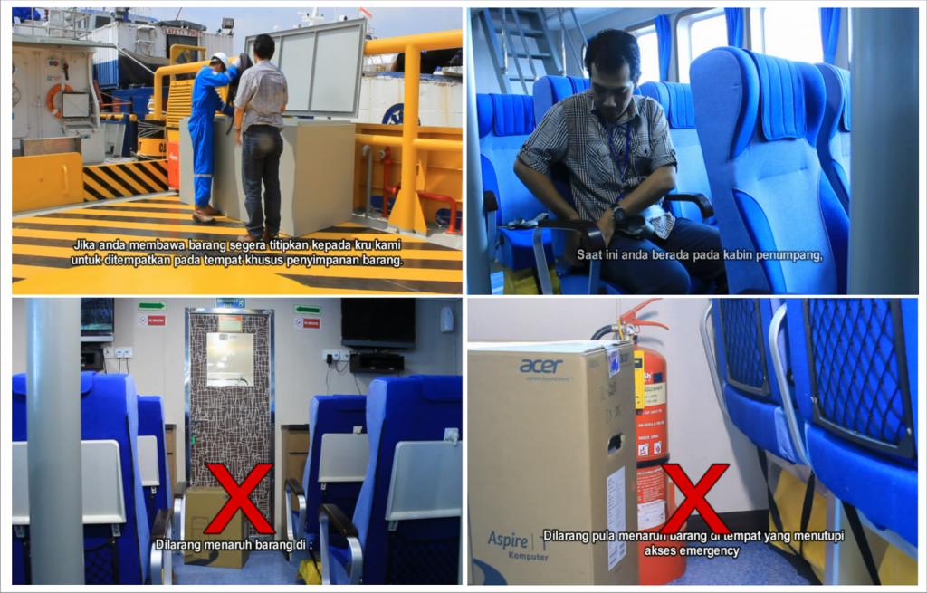 video keselamatan penumpang kapal