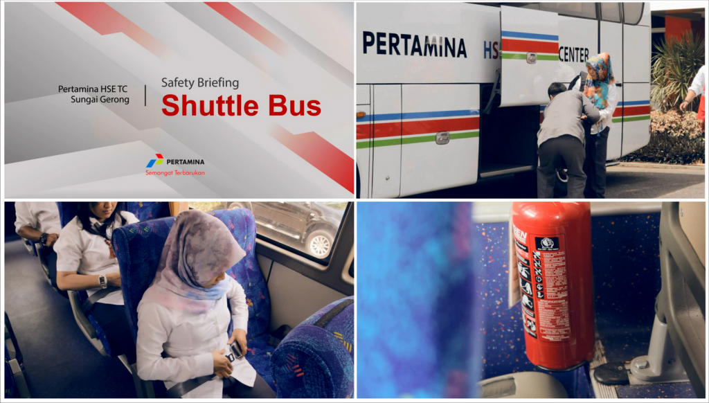 video safety shuttle bus
