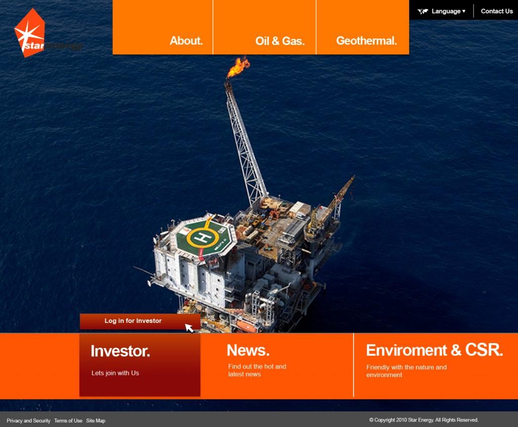 investor page depan