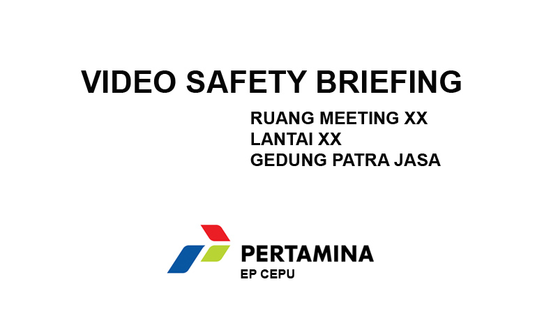 video safety briefing