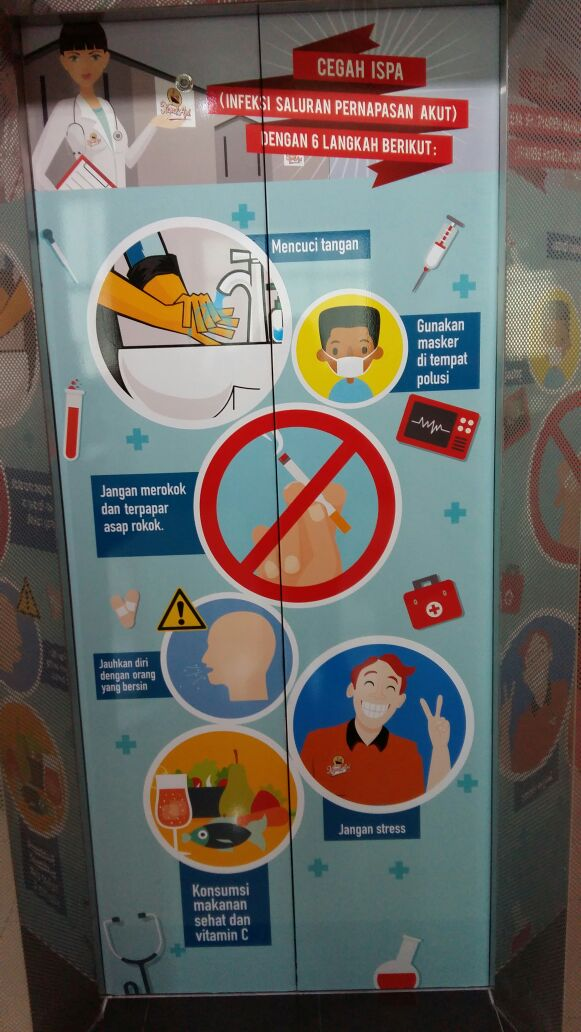 HSE Campaign / Kampanye K3 : Safety Stiker Lift
