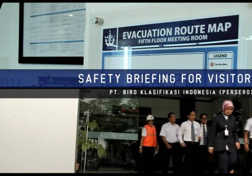 Safety Briefing Visitor